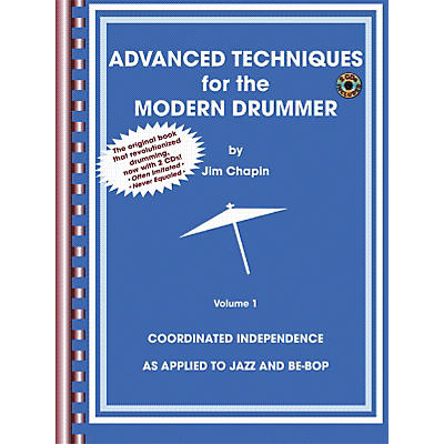 Alfred Advanced Techniques for the Modern Drummer Book and 2-CD Set