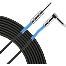 Advantage Instrument Cable Angled/Straight 20 ft. Black
