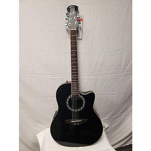 Applause Ae 128 Acoustic Electric Guitar Black