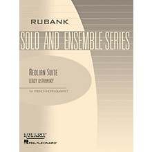 Rubank Publications Aeolian Suite (Horn Quartet - Grade 3) Rubank Solo/Ensemble Sheet Series
