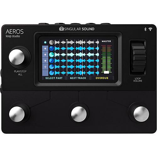 Singular Sound Aeros Loop Studio Looper Pedal Condition 1 - Mint Black