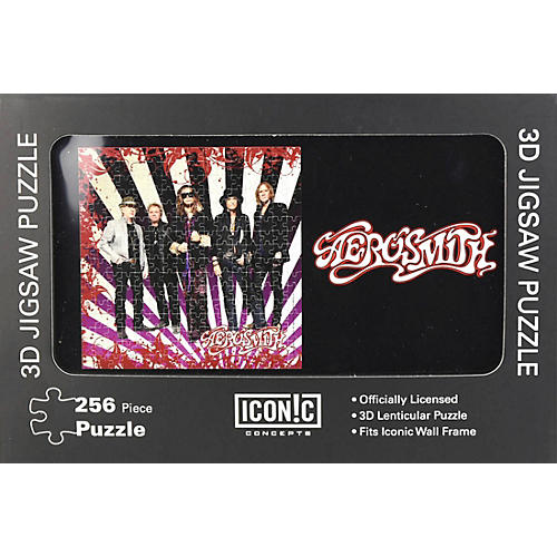 Iconic Concepts Aerosmith - 3D Lenticular Jigsaw Puzzle