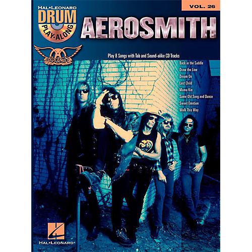 Hal Leonard Aerosmith - Drum Play-Along Volume 26 Book/CD