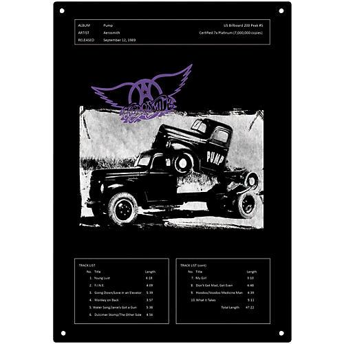 Iconic Concepts Aerosmith Pump Tin Sign 15-3/4