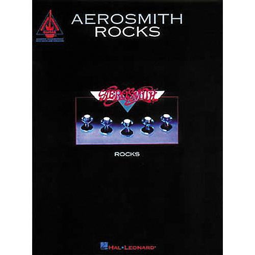 Hal Leonard Aerosmith Rocks Guitar Tab Songbook