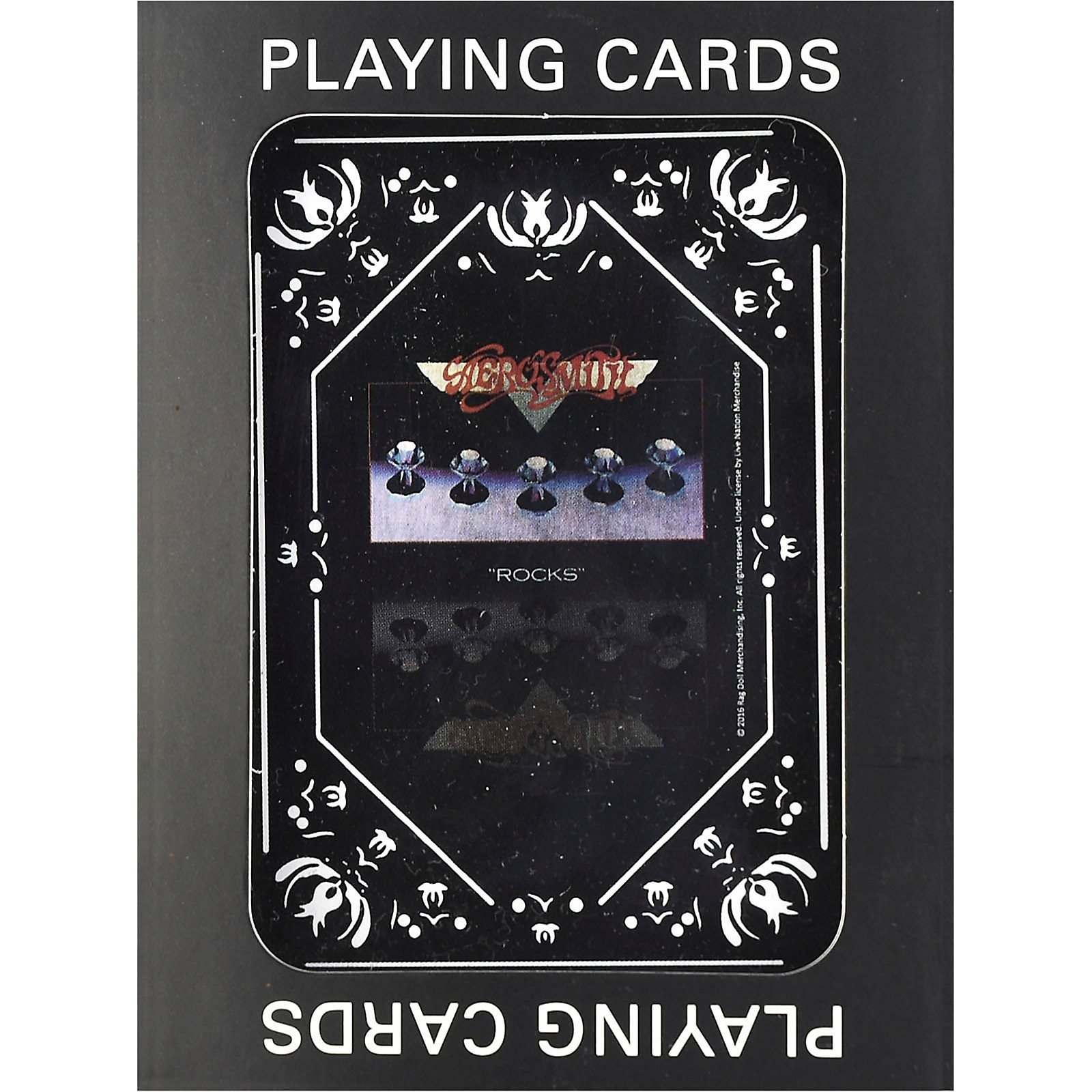 Iconic Concepts Aerosmith Rocks Playing Cards
