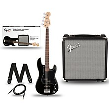Squier Affinity PJ Bass Pack with Fender Rumble 15 Amp