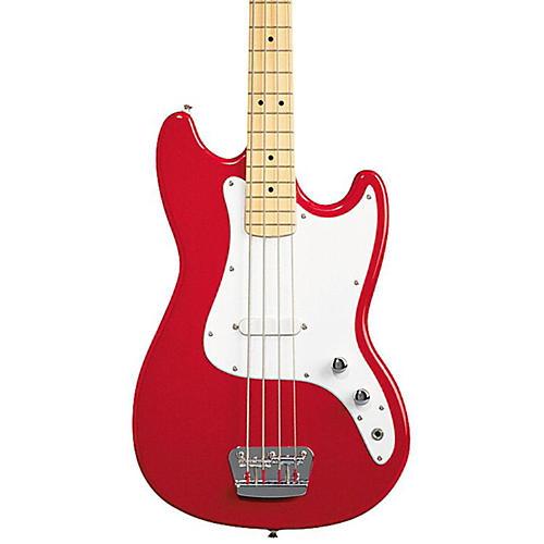 Squier Affinity Series Bronco Bass Guitar Torino Red