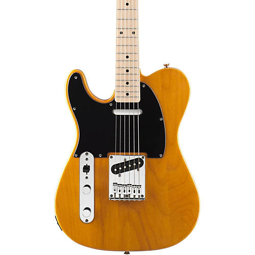 Squier Affinity Series Left-Handed Telecaster Special Electric Guitar Butterscotch Blonde