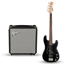 Open BoxSquier Affinity Series PJ Bass Pack with Fender Rumble 15W 1x8 Bass Combo Amp