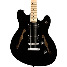 Affinity Series Starcaster Maple Fingerboard Electric Guitar Black