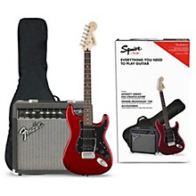 Open BoxSquier Affinity Series Stratocaster HSS Electric Guitar Pack with Fender Frontman 15G Amp
