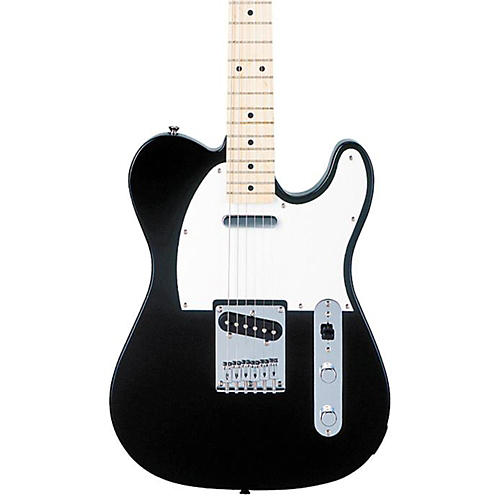 squier affinity series telecaster electric guitar black maple fretboard musician 39 s friend. Black Bedroom Furniture Sets. Home Design Ideas