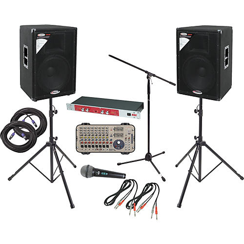 Soundcraft Affordable Comprehensive PA Package