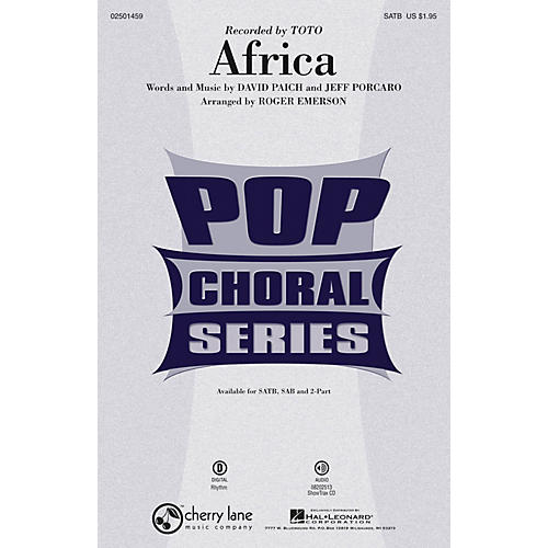 Hal Leonard Africa ShowTrax CD by Toto Arranged by Roger Emerson