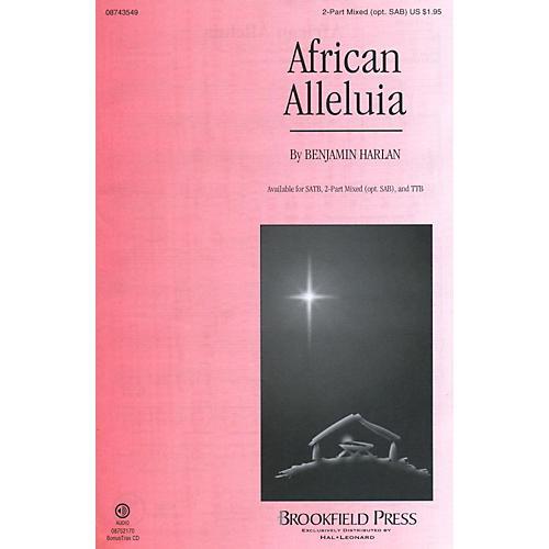 Hal Leonard African Alleluia 2-part (SAB)