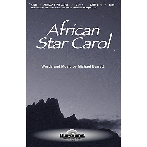 Shawnee Press African Star Carol SATB composed by Michael Barrett