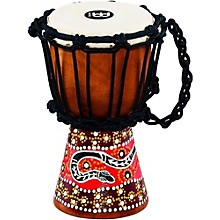 African-Style Mini Djembe 4.5 in. Python
