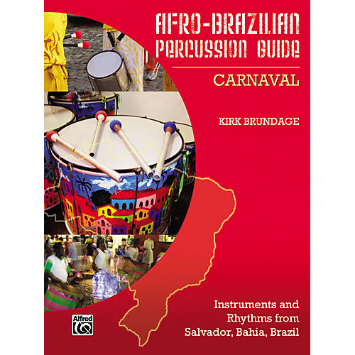 Alfred Afro-Brazilian Percussion Guide Book 2: Carnaval