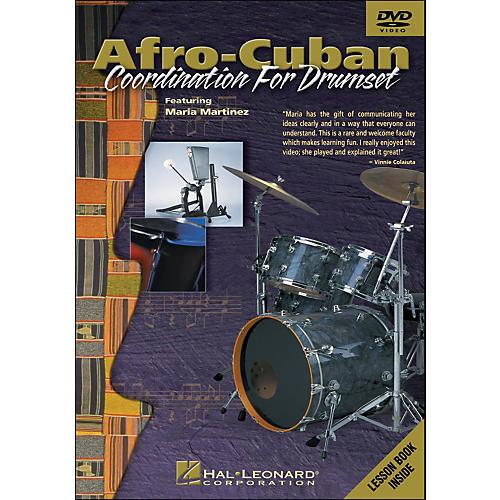 Hal Leonard Afro-Cuban Coordination for Drumset - DVD