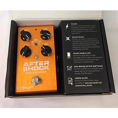 Source Audio After Shock Bass Distortion Bass Effect Pedal