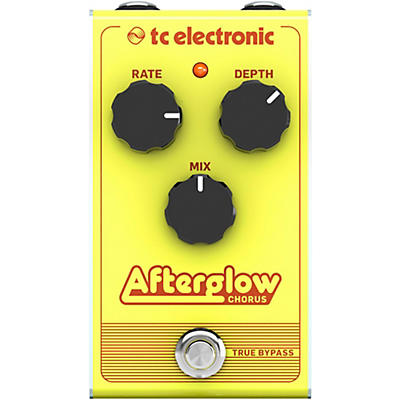 TC Electronic Afterglow Chorus Effect Pedal