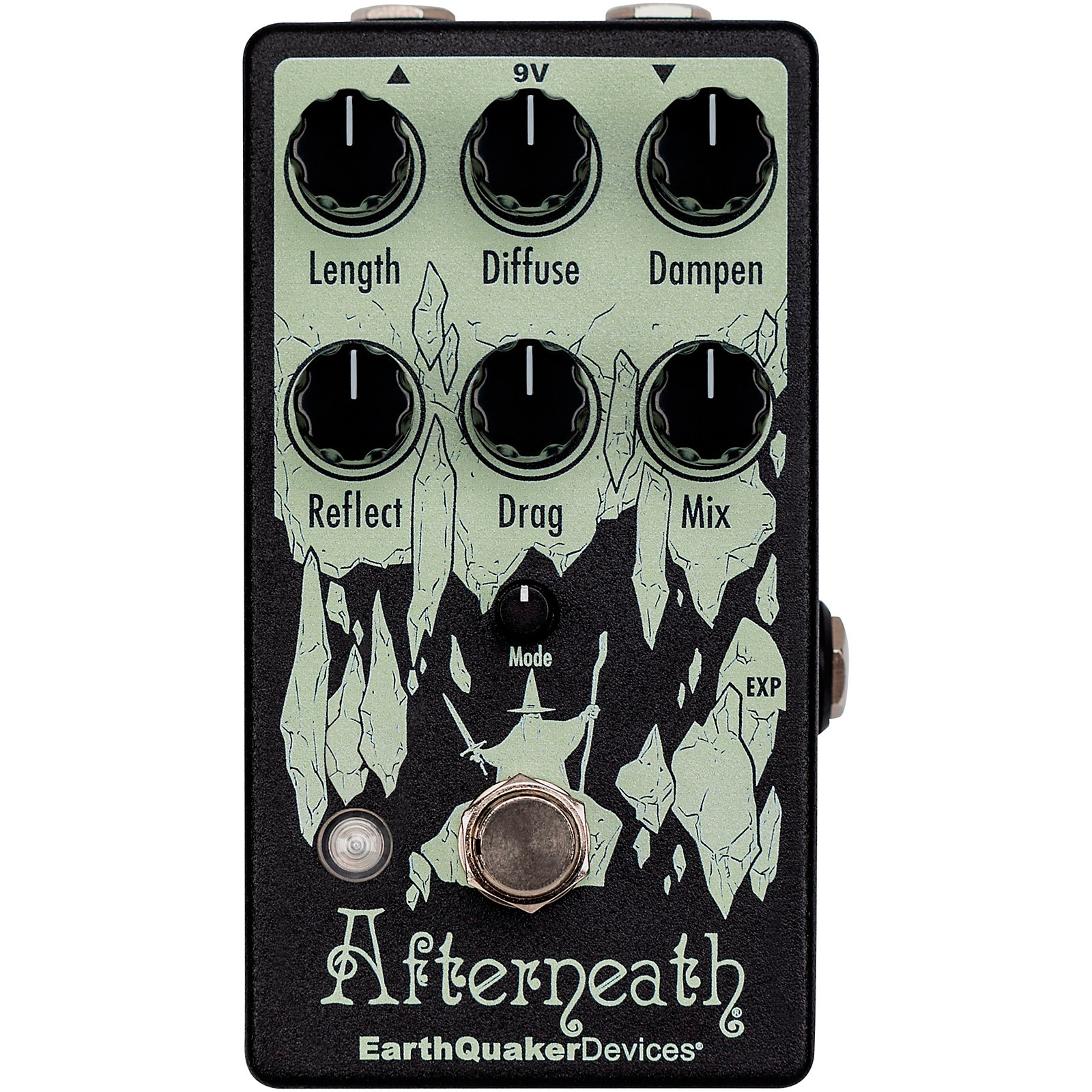 EarthQuaker Devices Afterneath V3 Reverb Effects Pedal