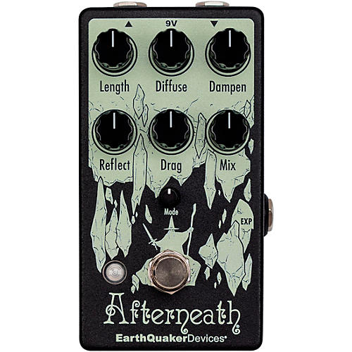 Earthquaker Devices Afterneath V3 Reverb Effects Pedal Black