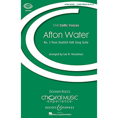 Boosey and Hawkes Afton Water (No. 1 from Scottish Folk Song Suite) 3 Part Treble A Cappella by Lee R. Kesselman