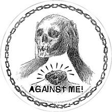 C&D Visionary Against Me Skull Sticker