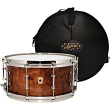 Ludwig Aged Exotic Carpathian Elm Limited Edition Snare Drum with Bag, 14 x 6.5 in.
