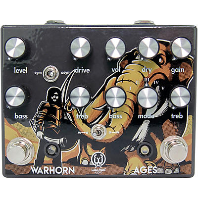Walrus Audio Ages Five-State Overdrive and Warhorn Mid-Range Overdrive Combo