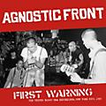 Alliance Agnostic Front - First Warning thumbnail