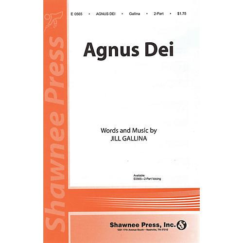 Shawnee Press Agnus Dei 2-Part composed by Jill Gallina