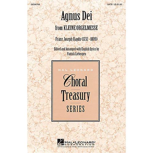 Hal Leonard Agnus Dei: Music of Inner Harmony (from Kleine Orgelmesse) SATB arranged by Patrick Liebergen