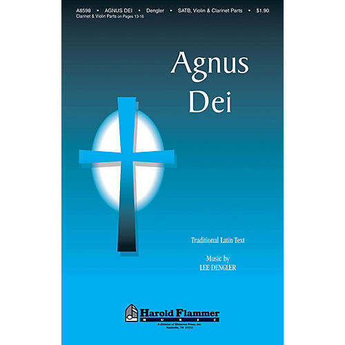 Shawnee Press Agnus Dei SATB composed by Lee Dengler