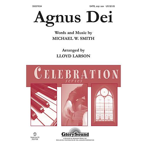 Shawnee Press Agnus Dei Studiotrax CD by Michael W. Smith Arranged by Lloyd Larson