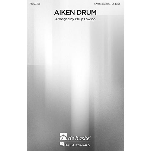 De Haske Music Aiken Drum SATB a cappella arranged by Philip Lawson