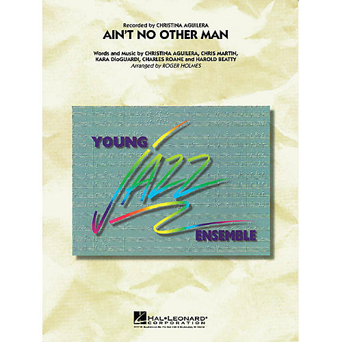 Hal Leonard Ain't No Other Man Jazz Band Level 3 Arranged by Roger Holmes
