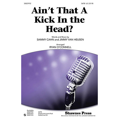 Shawnee Press Ain't That a Kick in the Head? Studiotrax CD by Dean Martin Arranged by Ryan O'Connell