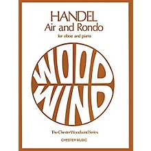 Chester Music Air and Rondo for Oboe and Piano Music Sales America Series