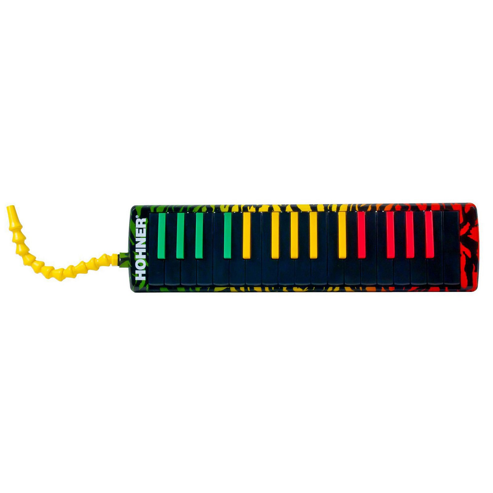 Hohner Airboard Rasta Print With Bag And Blowflow Mouthpeice