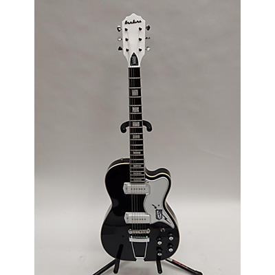 Eastwood Airline Tuxedo Hollow Body Electric Guitar