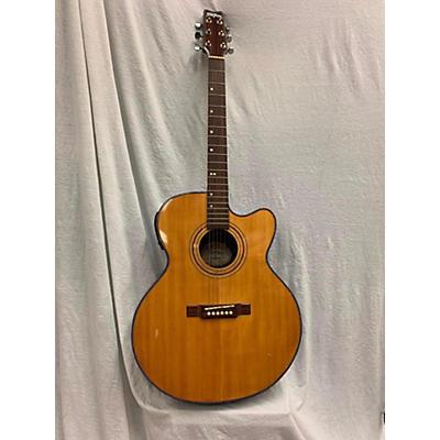 Washburn Aj12cet Acoustic Electric Guitar
