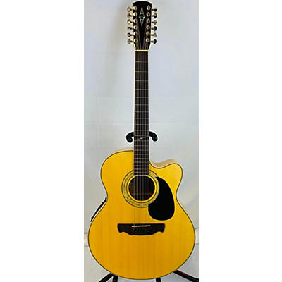 Alvarez Aj60 SC 12 String 12 String Acoustic Electric Guitar