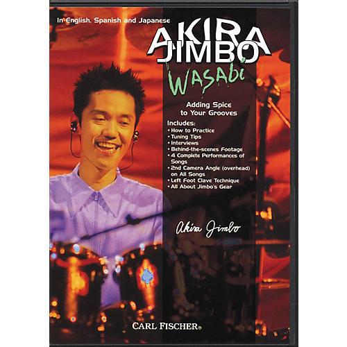 Carl Fischer Akira Jimbo Wasabi Drum (DVD)