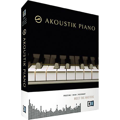 Kvr: akoustik piano by native instruments piano / keys vst.