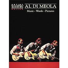 Hal Leonard Al Di Meola - Music, Words, Pictures Guitar Tab Book