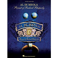 Hal Leonard Al Di Meola - Pursuit of Radical Rhapsody Artist Books Series Softcover Performed by Al Di Meola