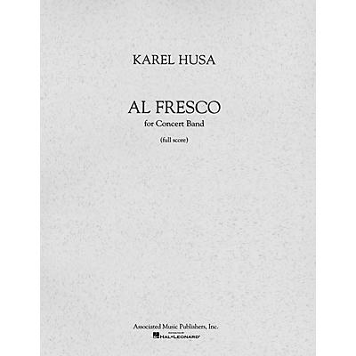 Associated Al Fresco (Full Score) Concert Band Composed by Karel Husa